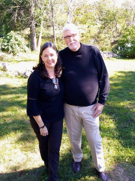 Tony Hedrick and I