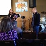 Daniel shares in church at Chapel Ridge