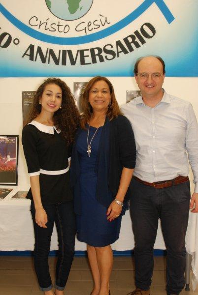 Pastor Aldo Cerasino & Mariela De los Santos-Parma, Italy