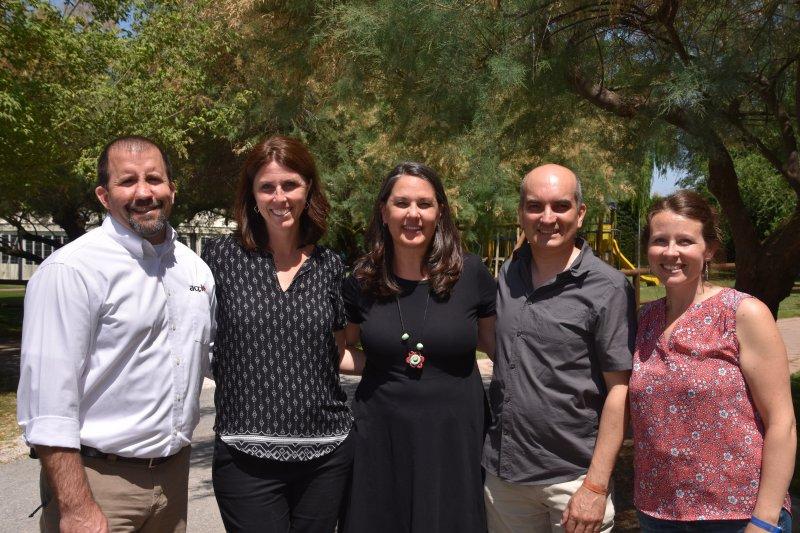 ACCI Staff Team - John & Amy Haley, Ann Hinrichs, Francesco Abortivi, Lauren Roth