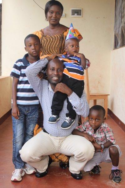 Aimable Manirambona & Family-Burundi Africa