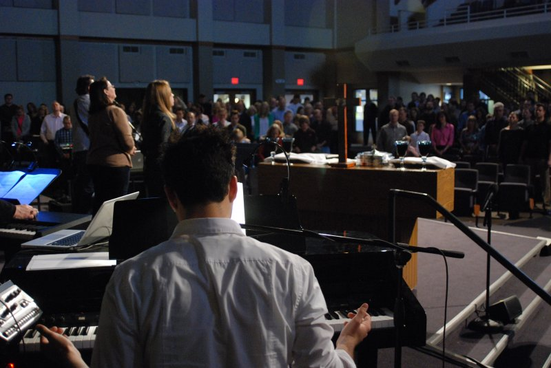 Leading Worship at PCC