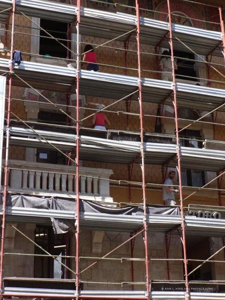 Restoration-Florence, Italy