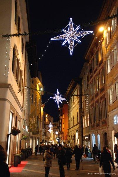 Christmas streets, Trento, Italy