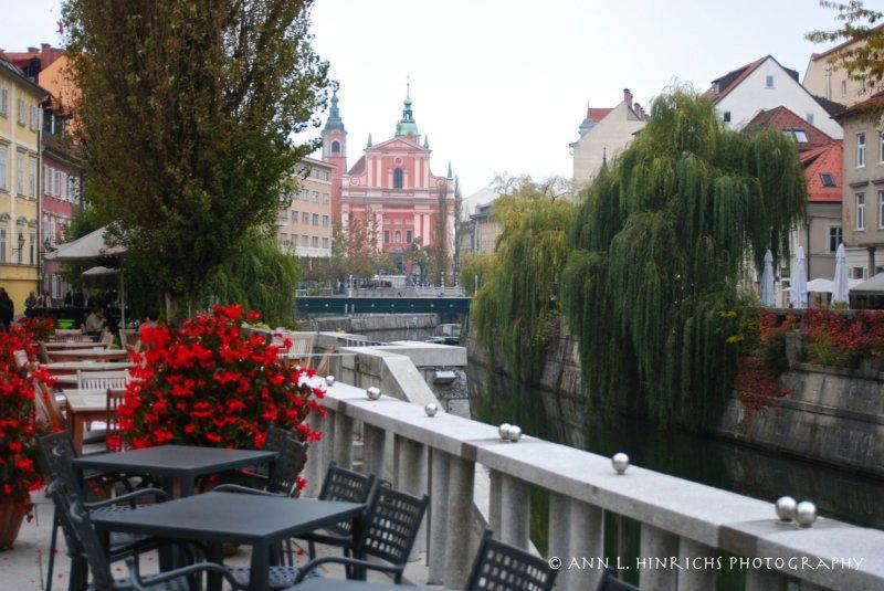 Ljubljana, Slovenia River