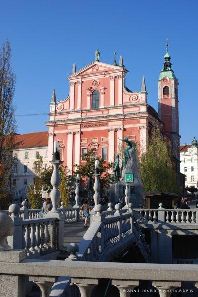 Ljublijana, Slovenia Downtown