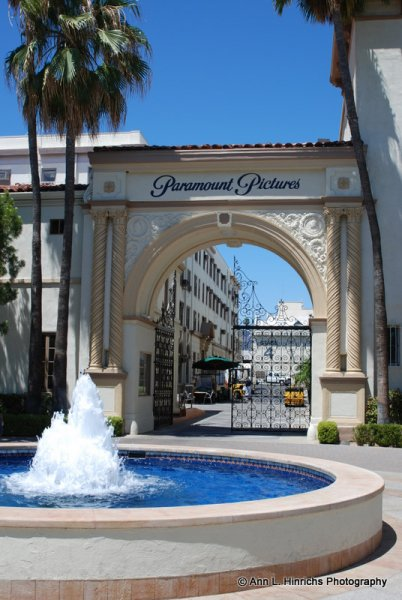 Paramount Pictures Entrance