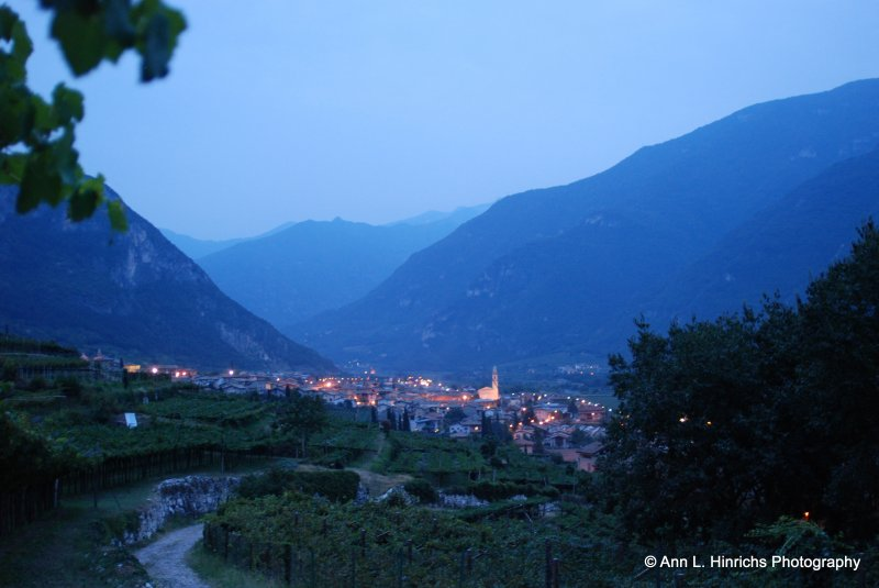 Evening in Trentino, Italy