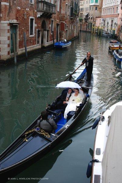 Canal Bride & Groom