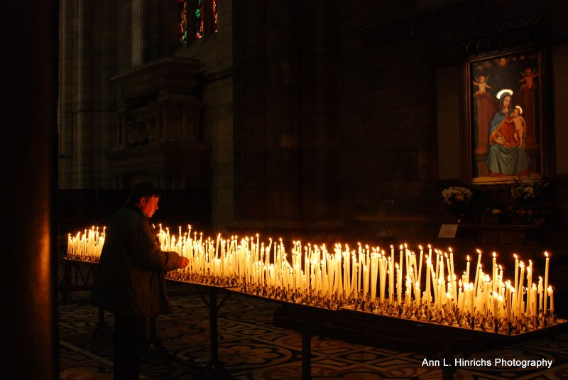 Prayer in the Catherdral
