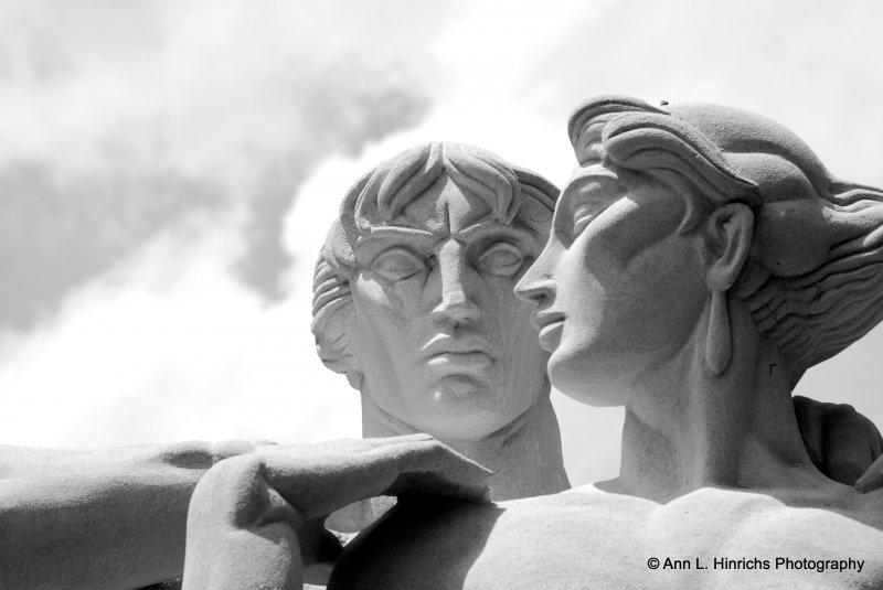 Greenbrook Gardens, SC Statue Art 13