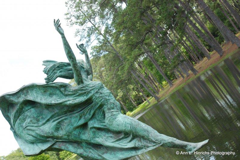 Greenbrook Gardens, SC Statue Art 10