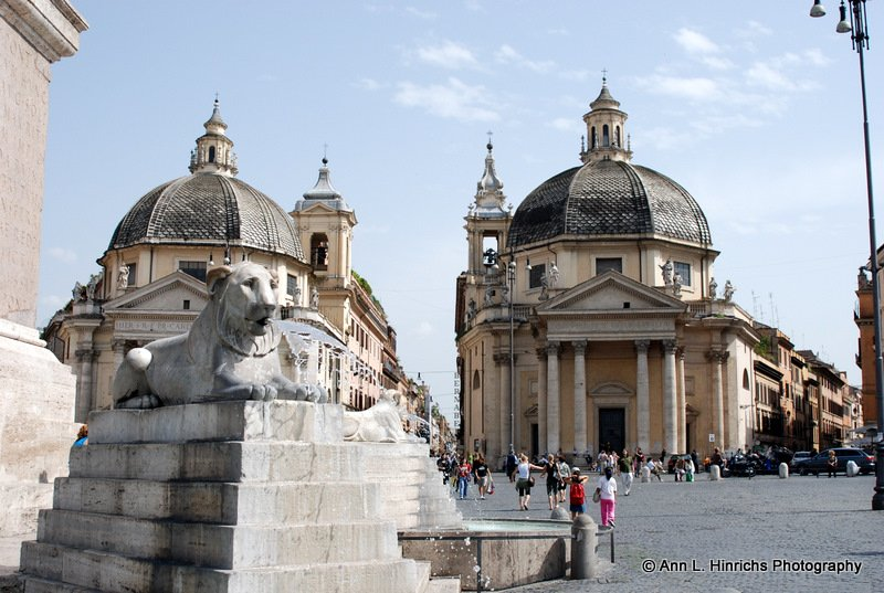 The Twin Churches of Rome