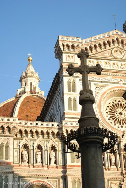 Duomo crosses, Florence, Italy