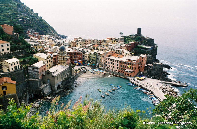 Vernazza Mountain View