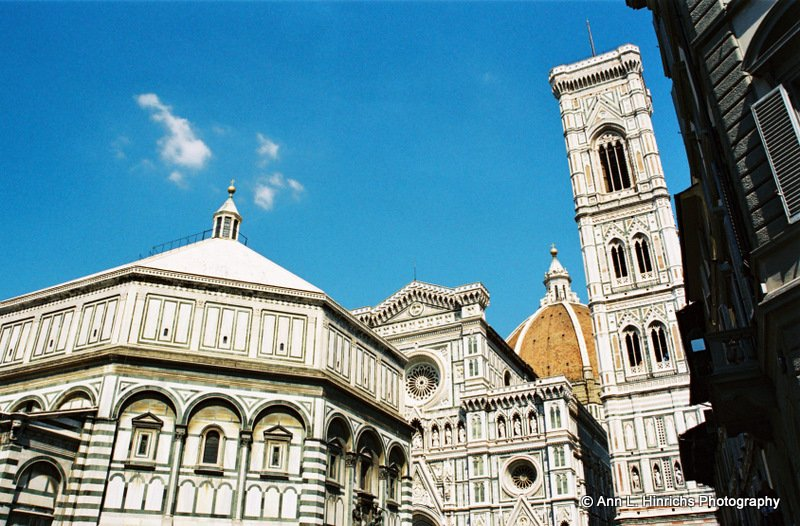 The Bapistry and Duomo of Florence
