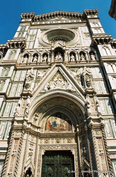 Front Door of the Duomo of Florence