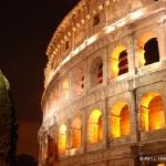 Roman Coliseum at Night 2