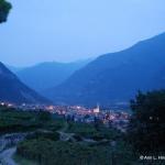 Evening in Trentino, Italy