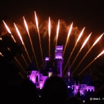 Disneyland Castle Fireworks