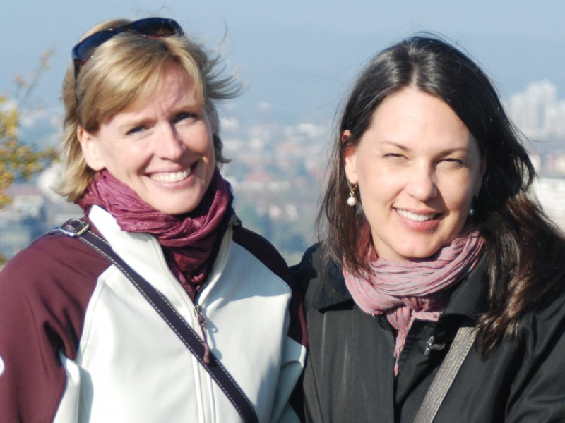 Italy & Slovenia-Wendy Mills & Myself