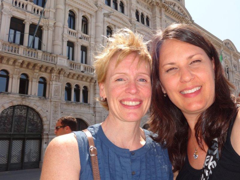 Wendy Mills & Ann-Italy & Slovenia-May/June 2014