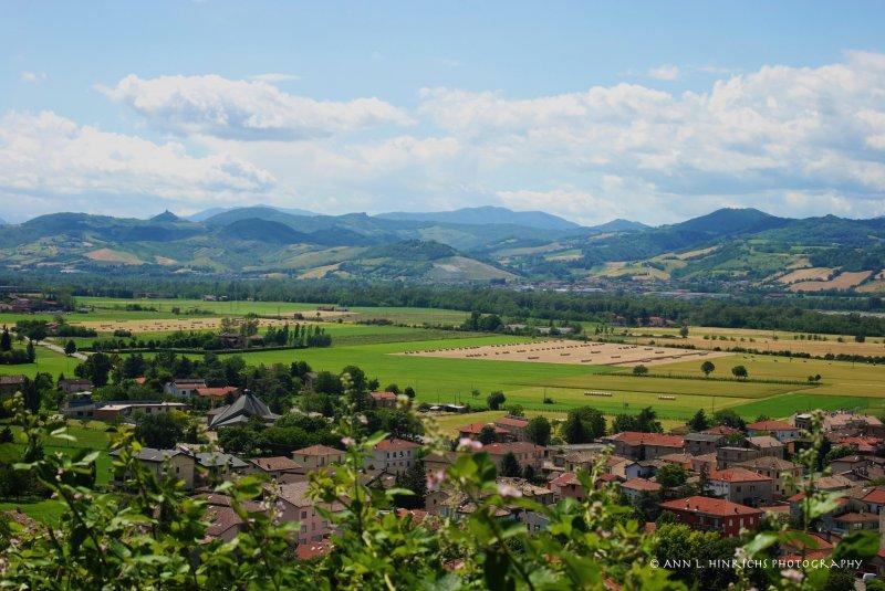 Overlooking Fornovo, Italy
