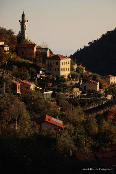 Hills above Chiavari, Italy