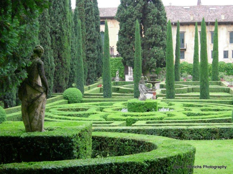 Misty Statue Garden