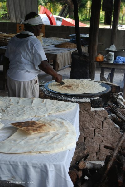 Making Casava-Dangriga, Belize