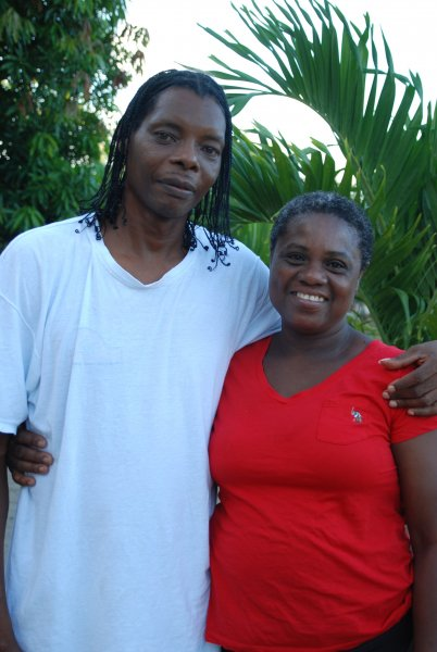 Pastor Herdie and Victoria-Belize