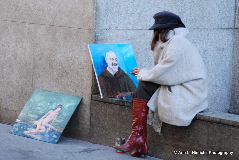 Artist's Quiet Corner