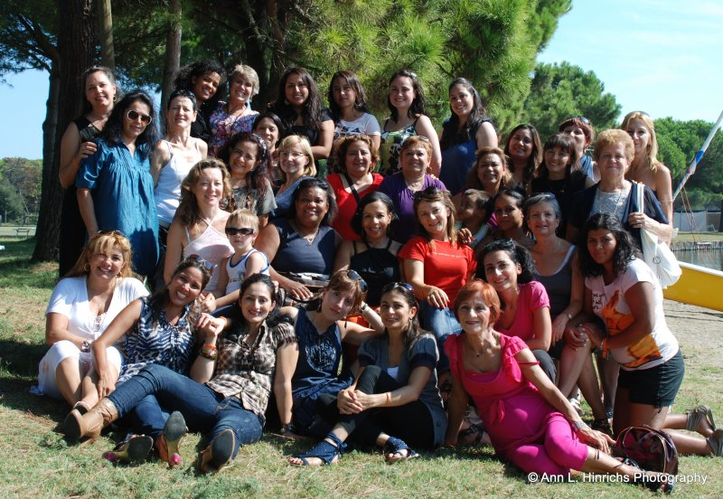 Women's Retreat, Parma Italy