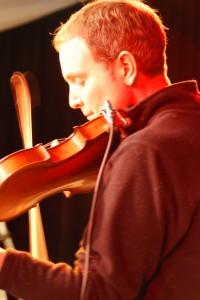 Jeremy on Fiddle & Vocals
