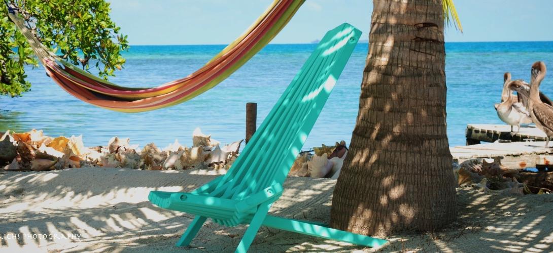Resting-Bread & Butter Caye, Belize