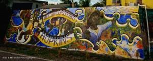 Hopkins Village Wall Sign